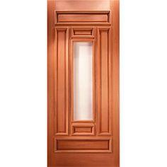 puertas de entrada principal de madera - Buscar con Google