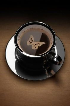 Coffee butterfly - http://www.universodosnegocios.com/