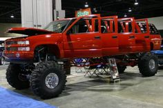 Looking for a new truck to fit my family... extended family. lol