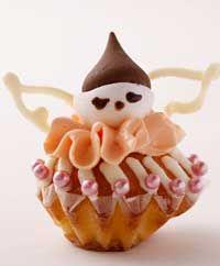 カップケーキの天使