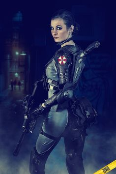 """mlpiceking: """" Karena """"Lupo"""" LesProux Cosplay from Resident Evil: Operation Raccoon City SOURCE """" say what you want about operation raccoon city i enjoyed it and the cosplay we see because of it is epic Operation Raccoon City, Resident Evil Cosplay, Self Defense Women, Best Cosplay, Awesome Cosplay, Thicc Anime, Female Soldier, Monster Art, Female Poses"""