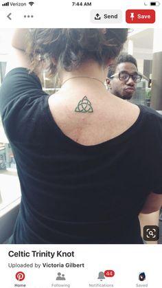 Trinity Knot Tattoo, Celtic Knot Tattoo, Celtic Trinity Knot, Small Celtic Tattoos, Celtic Tattoo For Women, Tattoos For Women, Tattoo Bracelet, Triquetra, Sister Tattoos