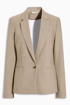 Buy Neutral Herringbone Jacket from the Next UK online shop