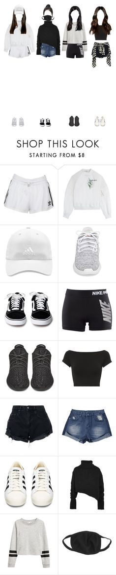 """""""(Trainee/Smrookie) Dance Cover September"""" by k-p0p101 ❤ liked on Polyvore featuring adidas Originals, Carven, adidas, NIKE, Helmut Lang, Nobody Denim and Ann Demeulemeester"""