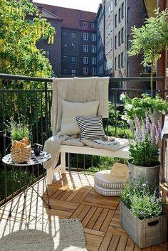 100 idee per arredare il balcone di casa   Terrazzino   Pinterest ...