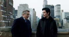 Robert De Niro appeared in TV commercial in Japan with Shohei Matsuda, son of the actors Yusaku Matsuda.