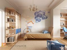 Фото детская комната из проекта «Дизайн квартиры 74 кв.м. в стиле американской классики, ЖК «Платинум»»