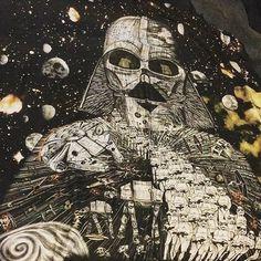 Emma J Shipley x Star Wars scarf ⭐️ Star Wars fashion ⭐️ Geek Fashion ⭐️ Star Wars Style ⭐️ Geek Chic ⭐️ Geek Fashion, Star Fashion, Geek Chic, Wool Scarf, Star Wars, Geek Stuff, Darth Vader, Stars, Instagram Posts