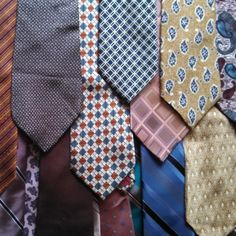 fun with upcycling neckties!!!  Wear It! - 101 Necktie Crafts You Have to Try (part 2 of 6)