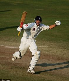 Alastair Cook (England) celebrates his maiden Test century against India at Nagpur in 2006 Alastair Cook, Test Cricket, 21 Years Old, Confused, Soccer, England, Football, India, In This Moment