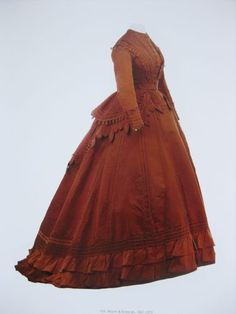 Charles Frederick Worth is widely considered to be the father of haute couture . Born in Engla nd in he moved to Paris in 1845 and af. Charles Frederick Worth, 1800s Fashion, Victorian Fashion, Vintage Fashion, Victorian Dresses, French Fashion, Fashion Women, Jeanne Paquin, Antique Clothing