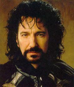 "George. The Sheriff of Nottingham.  Alan Rickman. ""Robin Hood, Prince of Thieves"".    A really good, villain!"