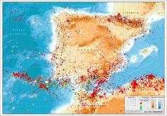 Estadisticas sismicas del consorcio de seguros de España
