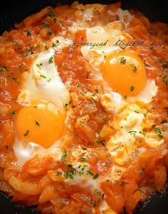 Hungarian Recipes, Bacon, Vegan Recipes, Brunch, Food And Drink, Cooking, Breakfast, Healthy, Ethnic Recipes