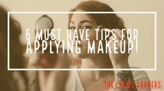 How to applying makeup and makeup 101 is not taught in school, so we may not learn good application habits and tricks that can really make a difference in how the cosmetics look on our face.