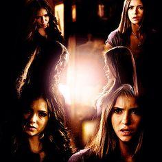 """You must be Elena. I'm Katherine."""