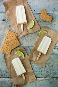 Key Lime Pie Pops