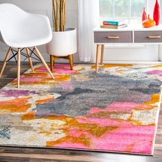 Shop for nuLOOM Abstract Vintage Fancy Multi Rug (7'10 x 10'10). Get free shipping at Overstock.com - Your Online Home Decor Outlet Store! Get 5% in rewards with Club O!