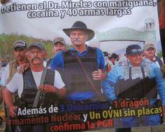 Marchan en apoyo a Mireles en el DF (#LiberenaMireles #TodosSomosMireles #MeRapoComoMireles)