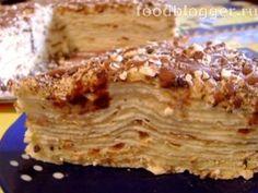 Пошаговый фото-рецепт: Торт «Наполеон Классический»   FoodBlogger.ru