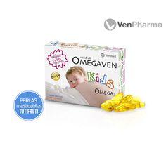 Ayuda y refuerza el desarrollo de los más pequeños con el Omega3. VenPharma Omegaven Kids $9.50€