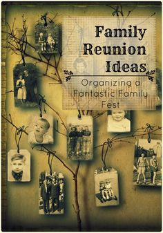 Organize a fantastic #familyreunion with these tips!