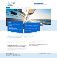 www.ajc-conseil.eu - Création du site Internet de l'agence conseil en management AJC Conseil #website #siteweb #webagency #agenceweb #opteam #leadex #capval #conseil
