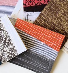 Fabric Scrap Cards