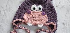 Crochet Hippo Hat by Sarah Zimmerman