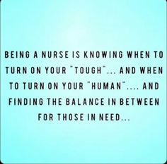If you're a nurse, you know how true this is!