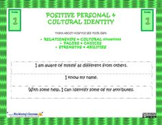 Personal & Cultural Identity Core Competencies Slides (New BC Curriculum) Core Competencies, Cultural Identity, Emotional Development, Self Assessment, Grade 3, Growth Mindset, Classroom Management, Curriculum, Classroom Ideas