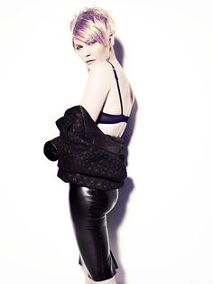 Kirsten Dunst photographed by Miguel Reveriego for Wonderland, 2011