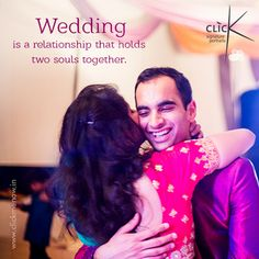 Wedding is a relationship that holds two souls together! #Weddingphotography #Clickmenow #Weddingquotes