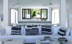 Home Interiors with Wonderful White Walls