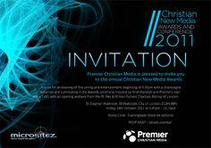 award ceremony invitation