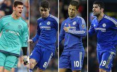 El Chelsea teme un éxodo masivo: Courtois Oscar Hazard y Costa