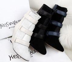 Isabel Marant 2013 wedges short boots