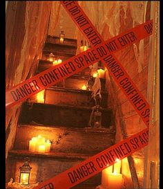 1000 images about haunted house ideas on pinterest haunted houses scariest haunted house and - Deco hal halloween ...