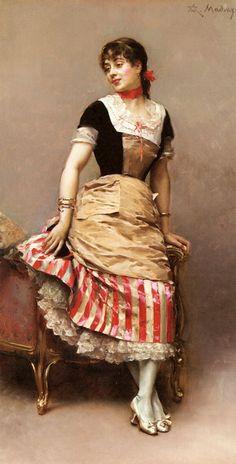 Raimundo de Madrazo y Garreta 1841-1920 portrait of aline masson