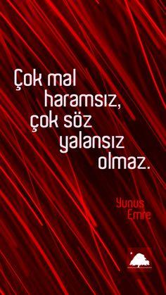 YunusEmre : Çok mal haramsız, çok söz yalansız olmaz. - Anadolu Çınarları poster