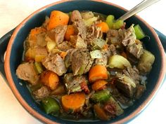 You can make a hearty, healthy, and delicious beef stew in your Instant Pot in under an hour…using frozen stew meat and fresh vegetables. This recipe is so easy to make and perfect for a weeknight meal. And, there is a secret seasoning ingredient! You can also make this stew with unfrozen meat. All you need to do is cut down the meat pressure cooking time. You can also make this beef stew in the slow cooker. In fact, that's how I used to make this stew before I got my Instant Pot!