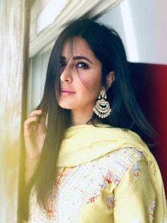 Katrina Kaif looks gorgeous in yellow at Anurag Basu's Saraswati Puja; Indian Celebrities, Bollywood Celebrities, Bollywood Fashion, Beautiful Celebrities, Bollywood Actress, Bollywood Stars, Bollywood Girls, Beautiful Actresses, Beautiful People