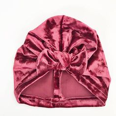 Velvet Baby hat - we are living in all things velvet this season so we think our little babe's should too. This velvet baby headwrap is so soft. She'll never want to take it off.