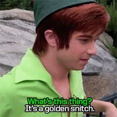 They're excited by the concept of Quidditch. | 14 Reasons The Peter Pans At Disneyland Are The Most Adorable ThingEver