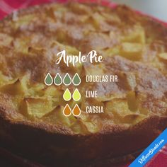 Apple Pie - Essential Oil Diffuser Blend