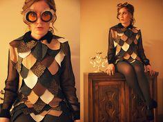 """Diy Owl Costume, Diy Owl Eyes // """"HOOTY-HOO"""" by Kitty Cotten // LOOKBOOK.nu"""