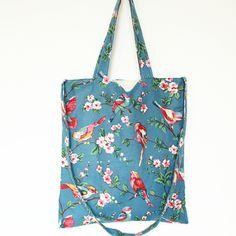Encontre mais Bolsas de Ombro Informações sobre 15 moda flor de algodão pássaro Animal impresso grande bolsa de ombro bonito bolsa sacos de mulheres mensageiro, de alta qualidade bolsa de moda, bolsas tailândia China Fornecedores, Barato bolsa saco a partir de Angelatracy's Shop em Aliexpress.com