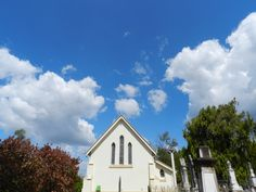 Church at Cemetary on top of the hill in Church Street, Mitchelton Brisbane, Clouds, Street, Places, Pretty, Top, Outdoor, Outdoors, Lugares