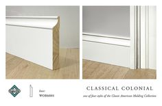 CLASSICAL COLONIAL BASE MOLDING | Flickr - Photo Sharing!