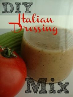 DIY Italian Salad Dressing Mix - You make it fresh & you know what's in it! This is better than the little package you buy!